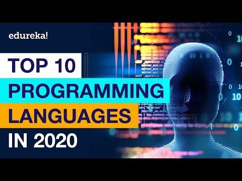 Top 10 Programming Languages In 2020 | Best Programming Languages To Learn In 2020 | Edureka